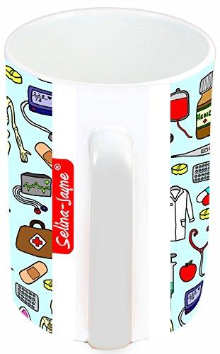 41fEhaUKxVL - Selina-Jayne Doctors Limited Edition Designer Mug and Coaster Gift Set