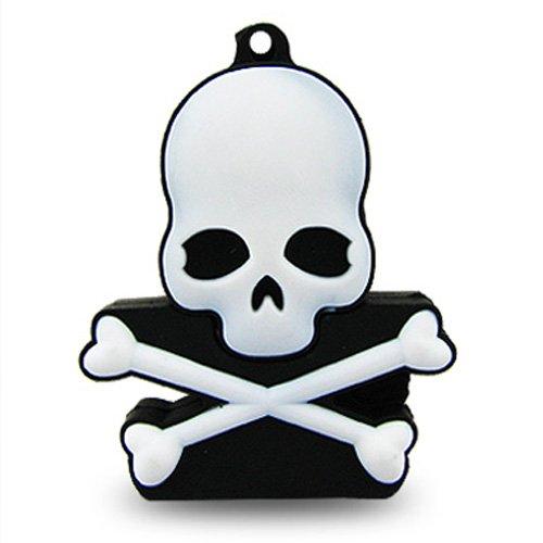 32 Hi-Speed 2.0 USB-Sticks 32GB Piraten Totenkopf schwarz (Lustige Halloween-symbole)