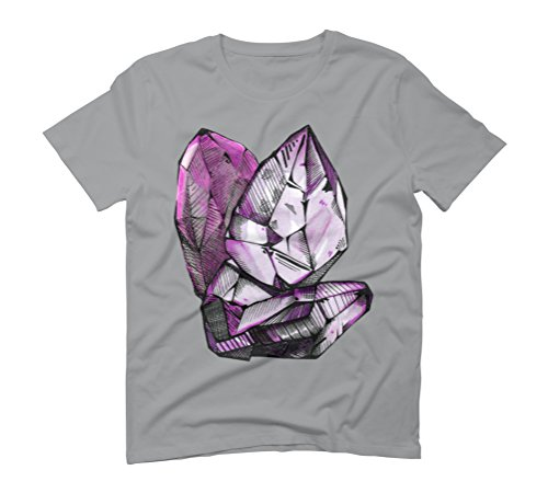 Crystals Men's Graphic T-Shirt - Design By Humans Opal