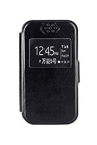 Noise-Oplus Xonphone 5 Universal Flip Cover (4.5-5 inch)-Black