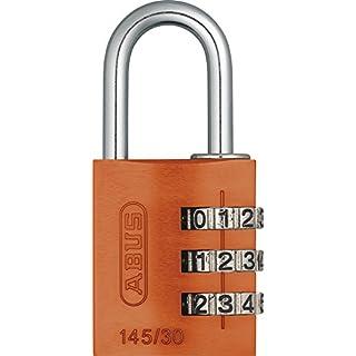 ABUS 145/30 Combination Padlock - Orange