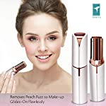 TOMIYA Facial Hair Trimmer For Women Electric Facial Hair RemovalWaterproof With Built In LED Light For Cheek Armpit Chin And Full Body