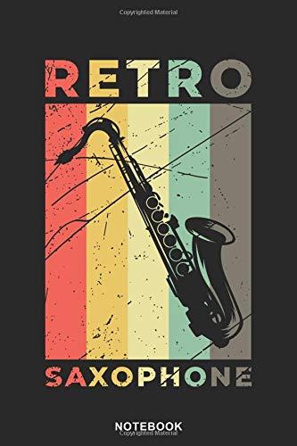 Saxophone Instrument Art Graphic Notebook: Saxophone Graphic Art  Instrument Blank Line String Notebook / Journal Gift (6 x 9 - 110 sheet music pages) (Brass Ensemble Sheet Music)