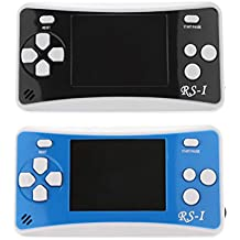 "MagiDeal 2Piece RS-1 2.5"" Handheld Console Game Built In 152 Games Player For Kids"