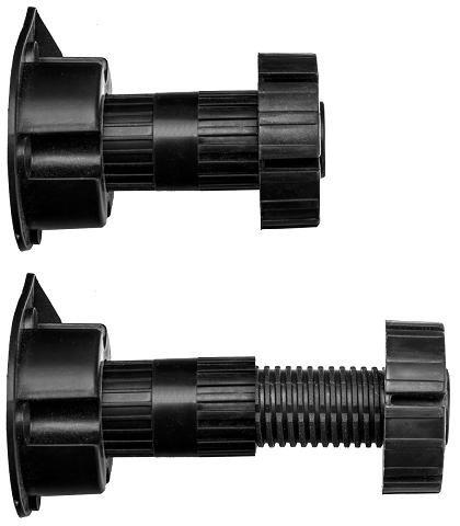 Gummiprodukt MB430-4Stück Küchenfüße (70mm)