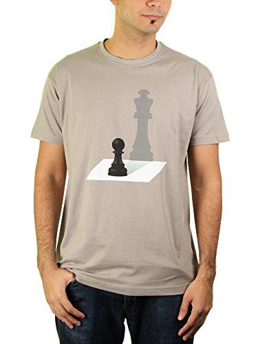 Die Ambition - Herren T-Shirt von Kater Likoli, Gr. L, Light Gray (T-shirt Light Vater)
