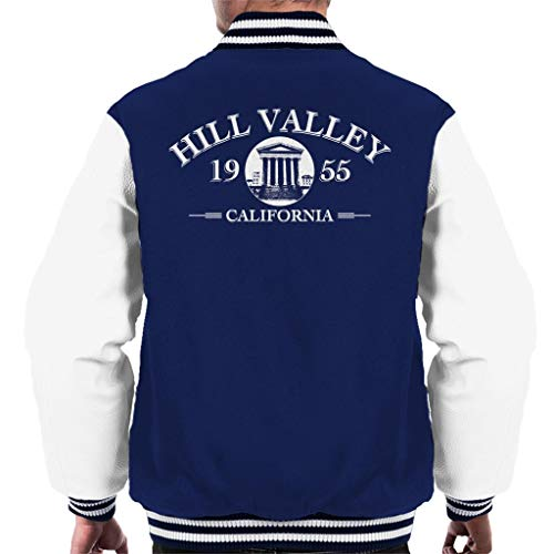 Back to The Future Hill Valley High School Men's Varsity Jacket High-school-varsity-jacken