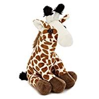 Zappi Co Childrens Stuffed Soft Cuddly Toy Mini Safari Jungle Animal Plush Teddy (Giraffe)