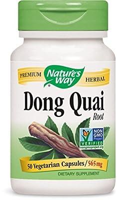 Nature's Way Dong Quai Root, 565 mg, 50 Capsules