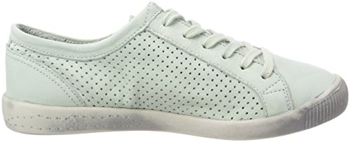 Softinos Ica388sof Washed, Baskets Femme Grün (Pastel Green)