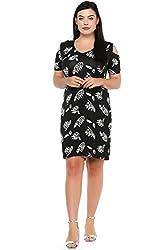 dc0ea72225637 40%off Lastinch Plus Size Black Cold Shoulder Dress(Size M- 8XL) (28)