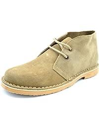 Zapato trabajo cordones serraje Vulsega en camel talla 44