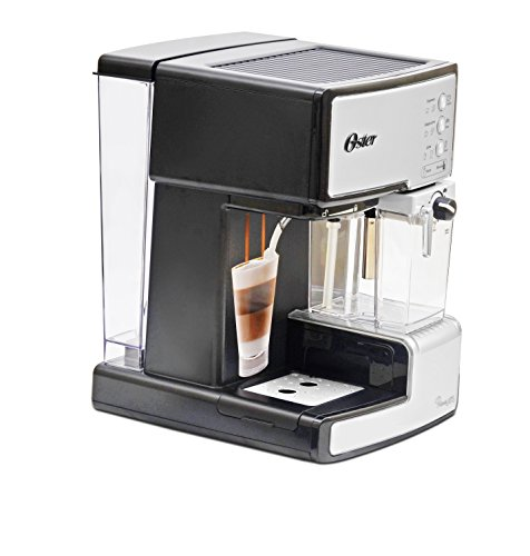 Oster BVSTEM6601S-049 1050-Watt Prima Expresso and Latte Maker (Silver)