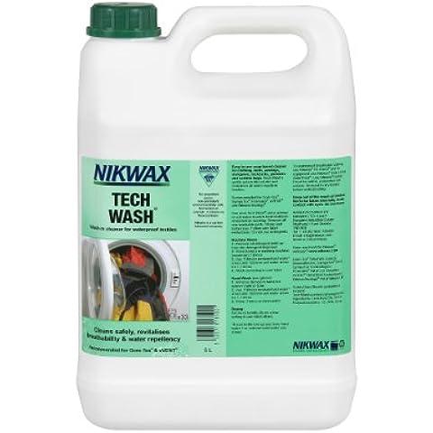 Nikwax Tech Wash Non-Detergent Technical Cleaner - 5lt