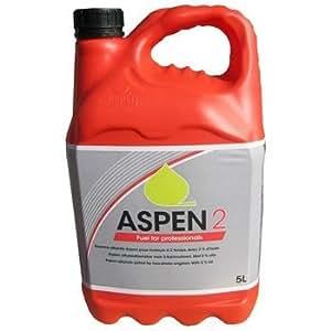 Aspen 24x 5l essence 2temps alkylate pré-mélangée garantissant (50: 1) 5l