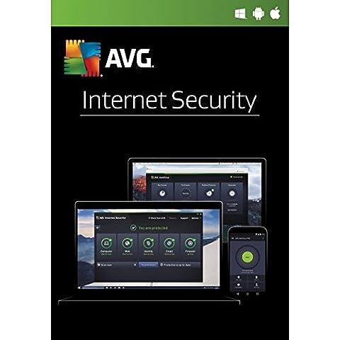 AVG Internet Security 2017 - 1 Jahre 1 PC -