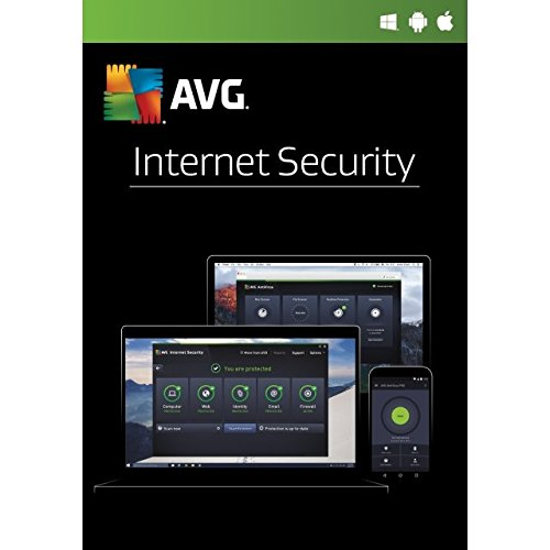 AVG Internet Security 2017 - 1 Yr 1 PC - OEM Italian