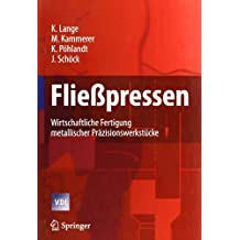 Fließpressen: Wirtschaftliche Fertigung metallischer Präzisionswerkstücke (VDI-Buch)