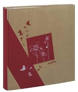 erica album kraftty pochettes pour 500 photos rouge cuisine maison. Black Bedroom Furniture Sets. Home Design Ideas