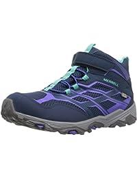 Merrell ml-g Moab Fst Mid A/C Waterproof, Chaussures de Randonnée Hautes Fille