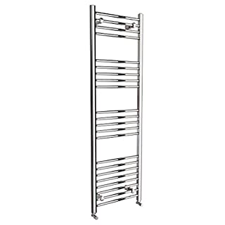 Requena Heated Towel Rail Chrome Bathroom Ladder Radiator - All Sizes (Straight, 1600 x 500)