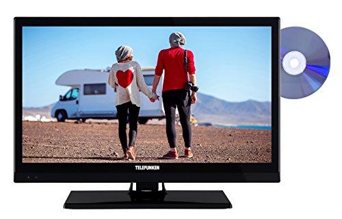 Telefunken XH20D101VD 51 cm (20 Zoll) Fernseher (HD Ready, Triple Tuner, DVD-Player, 12 V)