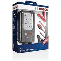 Bosch C7 Cargador 12/24 voltios Coche, moto, camión - Carga, Mantenimiento y Recuperación