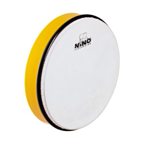 Nino Percussion NINO5Y ABS Handtrommel  25,4 cm (10 Zoll) gelb