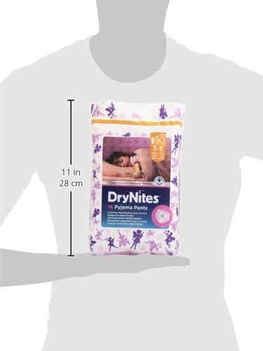 Dry Nites Pyjama Unterhosen Girl 3-5 Jahre, 1er Pack (1 x 16 Stück) - 6