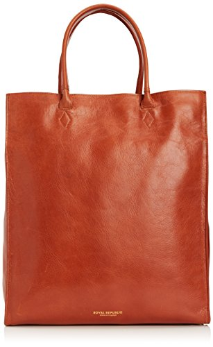 Royal Republiq - Mel Tote Bag, Borsa da donna Marrone (Cognac)