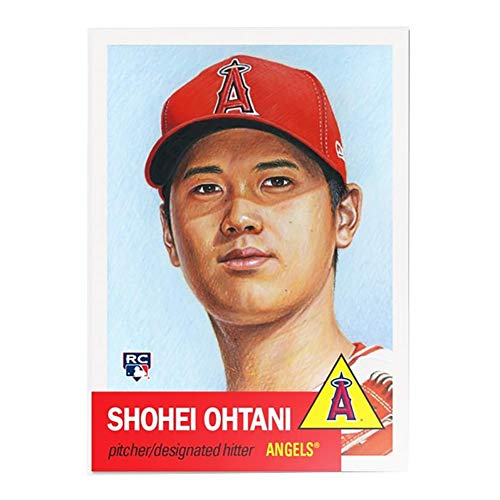 01eca7ab7 MLB LA Angels Shohei Ohtani (RC) - Topps Living Set Trading Card  7