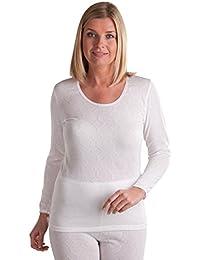 OCTAVE® t-shirt thermique à manches longues pour femme (plus de chaleur)