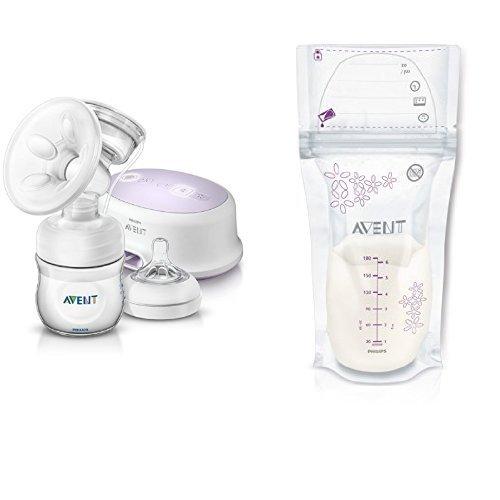 Philips Avent SCF332/01 extractor de leche eléctrico, con cojín masajeador suave +...