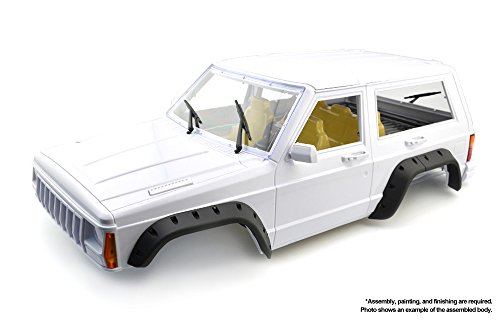 Integy RC Model Hop-ups OBM-024 Hard Plastic Scale XJ Sport Coupe Body Kit for 1/10 Off-Road Crawler WB=275mm (Body Rc Drift Car Kit)