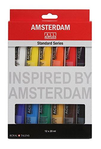 Amsterdam Acrylfarbe Introset II, 12 x 20 ml