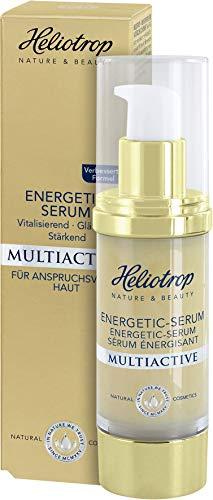 HELIOTROP Naturkosmetik MULTIACTIVE Energetic-Serums, Unterstützt die essenziellen Vitalfunktionen der Haut, Mindert die Faltentiefe,...
