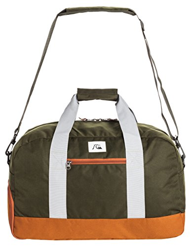 Quiksilver Uomo ruote valigetta Duffle Bag Medium Shelter Modern Original, Forest night, 49 x 31 x 26 cm, 41 litri, EQYBL03056-CSN0