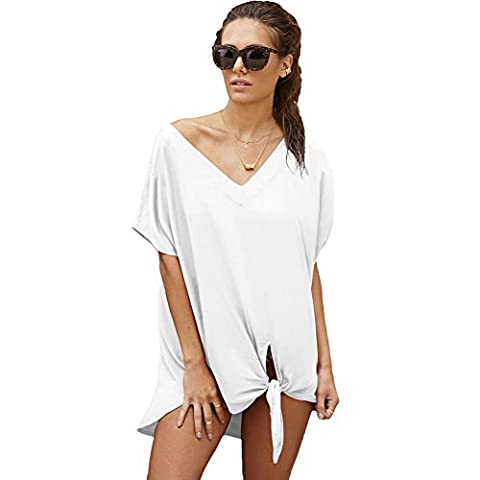 MEINICE Breezy Tie The Knot Beach Cover Up L