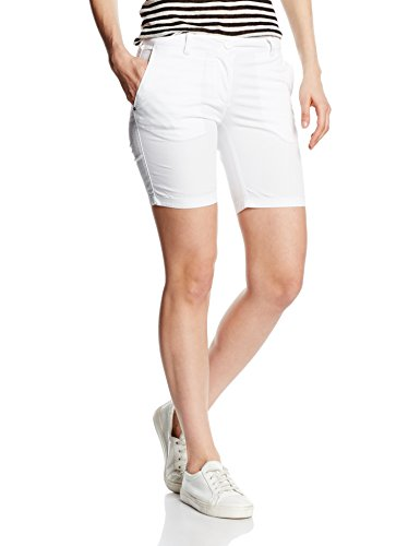 Napapijri Damen Bermuda Nauti Weiß (BRIGHT WHITE 002)