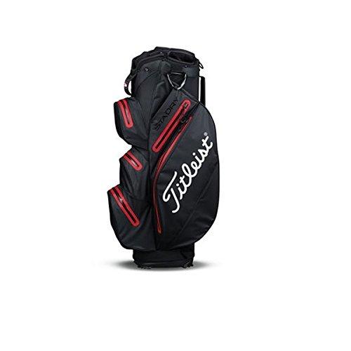 Titleist stadry Sac de golf Noir/Blanc/Rouge, noir