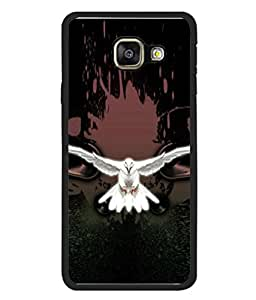 PrintVisa Animated Flying Eagle High Gloss Designer Back Case Cover for Samsung Galaxy A5 (6) 2016 :: Samsung Galaxy A5 2016 Duos :: Samsung Galaxy A5 2016 A510F A510M A510Fd A5100 A510Y :: Samsung Galaxy A5 A510 2016 Edition