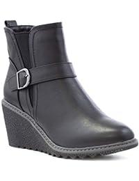 6c6296ed7df0 Amazon.co.uk  Chelsea Boots - Boots   Women s Shoes  Shoes   Bags