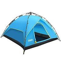 Beschreibung Dohiker Zelt ist gut gestaltet, geräumig und robust und bietet hervorragenden Schutz bei windigem und nassem Wetter. Nimmt zweilagiges Design an, das Material ist wasserdicht und kann an regnerischen Tagen verwendet werden. Mit der hydra...