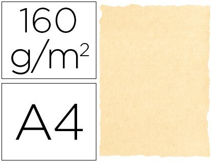 Michel 2603 - Papel pergamino, A4, color crema