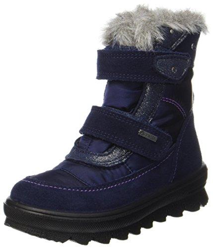 Mädchen Boots Blau (Superfit Mädchen Flavia Schneestiefel, Blau (Ocean Kombi), 35)