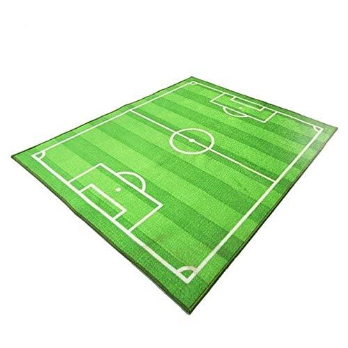 HoganeyVan Campo fútbol fútbol Alfombra niños Gatear