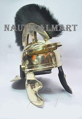 Roman Centurion Officer Helm mit Schwarz Plume von nauticalmart