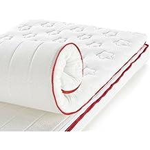Ecus Kids - Colchón de Cuna/Cuna de Viaje Mimo Travel (60 x 120 cm.) blanco