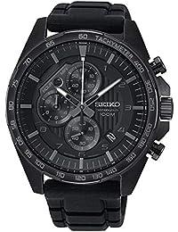 Seiko Reloj Cronografo para Hombre de Cuarzo con Correa en Silicona SSB327P1