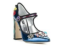Idea Regalo - Dolce&Gabbana decoltè Mary Janes in Vernice Multicolore - Codice Modello: CD0901 AM839 HBF31 - Taglia: 36 IT